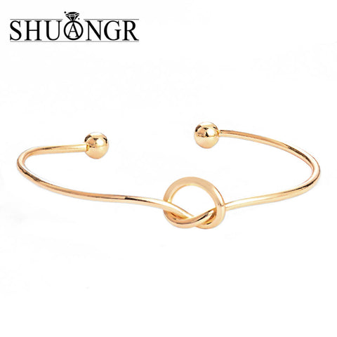 Vintage Cuff Bracelet Bangles for Women Gold Color Open Arrow Jewelry Valentines Gift - Vietees Shop Online