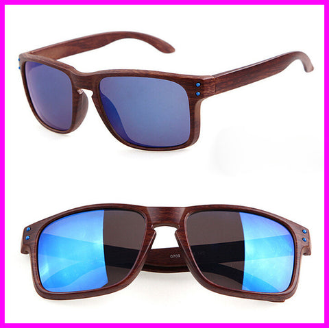 2015 Summer New Fashion Goggles Sunglass Mens Sports Oculos de sol Wood Color Sun glasses For Women Brand Designer Glasses - Vietees Shop Online - 1