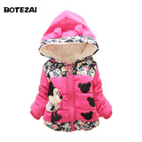 New 2015 Autumn & Winter Children Minnie Hoodies Jacket & Coat Baby Girls Clothes Kids Toddle Outerwear Warm Coat Age 1-4T - Vietees Shop Online