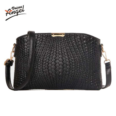 Women Bag 2016 Women Messenger Bags Small Wave Clutch Bags Handbags Women Famous Brands Designer Bolsa Feminina Mochila Black - Vietees Shop Online