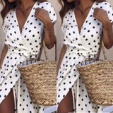 Women Summer Boho Long Evening Party Cocktail Dress Beach Dress Sundress - Vietees Shop Online