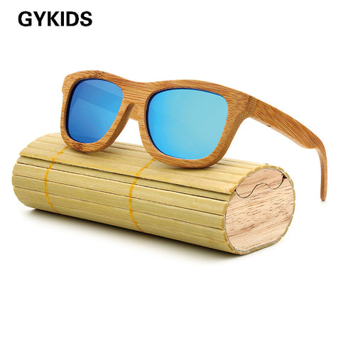 New fashion Products Men Women Glass Bamboo Sunglasses au Retro Vintage Wood Lens Wooden Frame Handmade - Vietees Shop Online