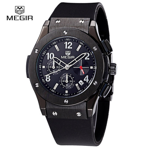 Megir hot brand quartz watches men relojes chronograph hours man casual watch for male fashion clock sport wristwatch 3002M - Vietees Shop Online