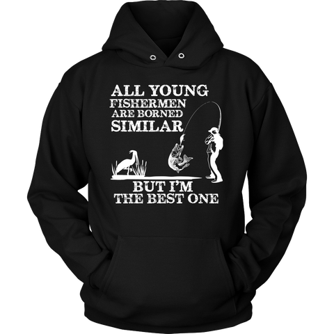 FISHING BEST ONE HOODIE - Vietees Shop Online - 1