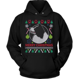 Border Collie Dog Breed Ugly Christmas Sweater Hoodie - Vietees Shop Online - 2