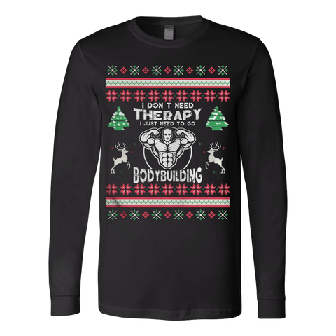 Bodybuilding Ugly Christmas Sweater - Vietees Shop Online - 1