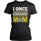PROUD FIREFIGHTER MOM - Vietees Shop Online