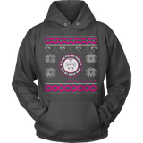 Nurses Daughter Ugly Christmas Sweater Hoodie - Vietees Shop Online - 4