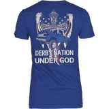 DERBY NATION UNDER GOD T-SHIRT - Vietees Shop Online