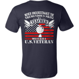 Never underestimate the tremendous skill of a teacher who is also a us veteran t shirt - Vietees Shop Online