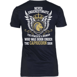 Never Underestimate Power of Capricorn - Vietees Shop Online