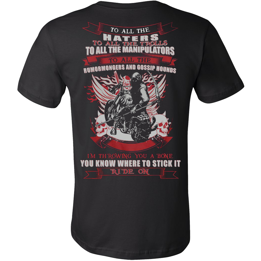 THE CLAIM OF BIKER T-SHIRT - Vietees Shop Online
