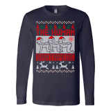 The human santapede ugly christmas sweater xmas - Vietees Shop Online