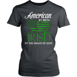 IRISH BY GRACE OF GOD T-SHIRT - Vietees Shop Online