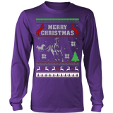 Ugly Christmas Sweater -  HORSE CHRISTMAS - Vietees Shop Online
