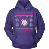 Nurses Daughter Ugly Christmas Sweater Hoodie - Vietees Shop Online - 6