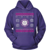 Image of Nurses Daughter Ugly Christmas Sweater Hoodie - Vietees Shop Online