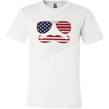 Mustache Fourth of July T-Shirt - Vietees Shop Online