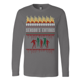 Zombie ugly christmas sweater - Vietees Shop Online - 3