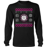 Nurses Daughter Ugly Christmas Sweater Hoodie - Vietees Shop Online - 7
