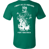 I didn't go to Harvard I went to Fort Huachuca T-shirt - Vietees Shop Online