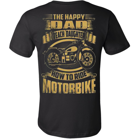 The Happy Dad T-shirt - Vietees Shop Online