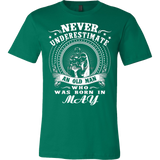 Never underestimate an old man who was born in May T-shirt - Vietees Shop Online
