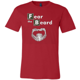 Fear The Beard Breaking Heisenberg Bad T-shirt - Vietees Shop Online