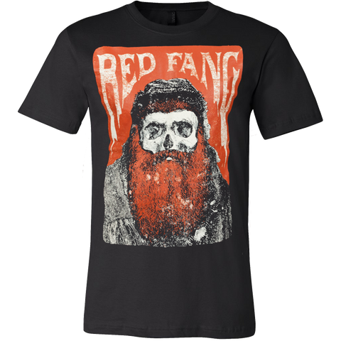 "Red Fang ""Bearded Skull"" T-Shirt - Vietees Shop Online"