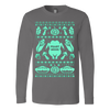 Image of Feast Mode Thanksgiving Ugly Christmas Sweatshirt - Vietees Shop Online