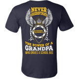 School Bus Driver - Never Underestimate - Vietees Shop Online