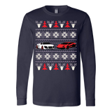 Racing Car Ugly Christmas Sweatshirt - Vietees Shop Online - 4