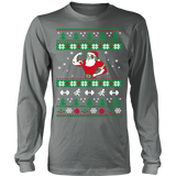 Merry Christmas Santa Fitness Ugly Sweater - Vietees Shop Online