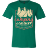 Image of Camping is the answer T-shirt - Vietees Shop Online
