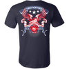 Image of AMERICAN FIREFIGHTERS FIRE RESCUE - FIRST IN LAST OUT - Vietees Shop Online
