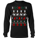 Dr who ugly christmas sweater xmas - Vietees Shop Online - 8