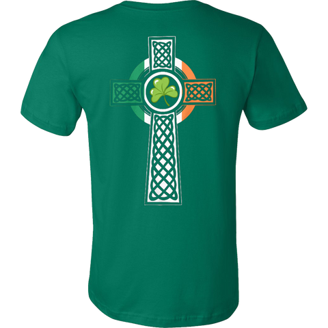Irish Cross T-shirt - Vietees Shop Online