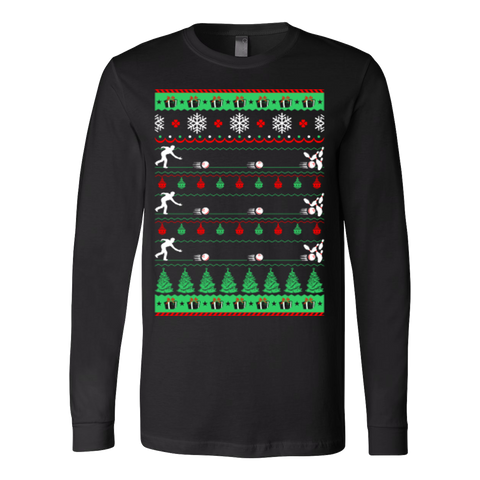 Bowlers bowling christmas ugly sweater - Vietees Shop Online