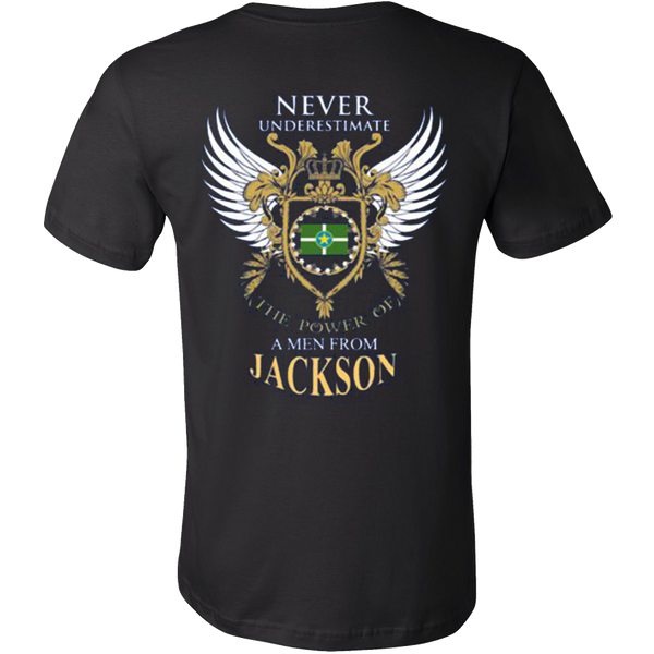 Never Underestimate The Power Of A Men From JackSon - Vietees Shop Online