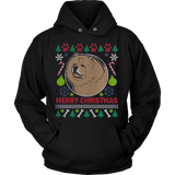 Chow Chow Dog Breed Ugly Christmas Sweater Hoodie - Vietees Shop Online - 2