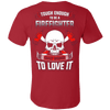 Image of CRAZY FIREFIGHTER SHIRT - Vietees Shop Online