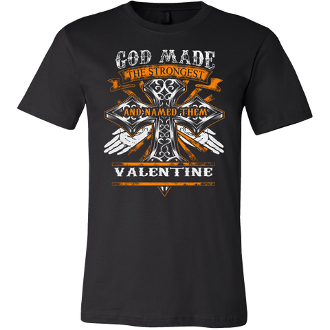 God Made Valentine T-shirt - Vietees Shop Online