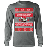 Meowy ugly christmas sweater - Vietees Shop Online