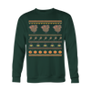 Image of Turkey Thanksgiving Ugly Christmas Sweatshirt - Vietees Shop Online
