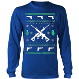 Assault Rifle Ugly Christmas Sweatshirt - Vietees Shop Online - 13