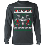 Firefighter fireman ugly christmas sweater xmas - Vietees Shop Online