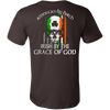 Image of AMERICAN IRISH BY GRACE OF GOD T-SHIRT - Vietees Shop Online