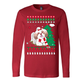 Christmas Ugly Sweater - SHIH TZU DOG - Vietees Shop Online - 6