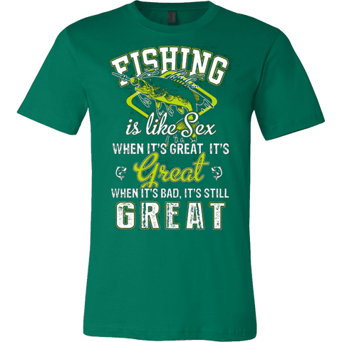 FISHING IS LIKE SEX - Vietees Shop Online