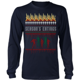 Zombie ugly christmas sweater - Vietees Shop Online - 7